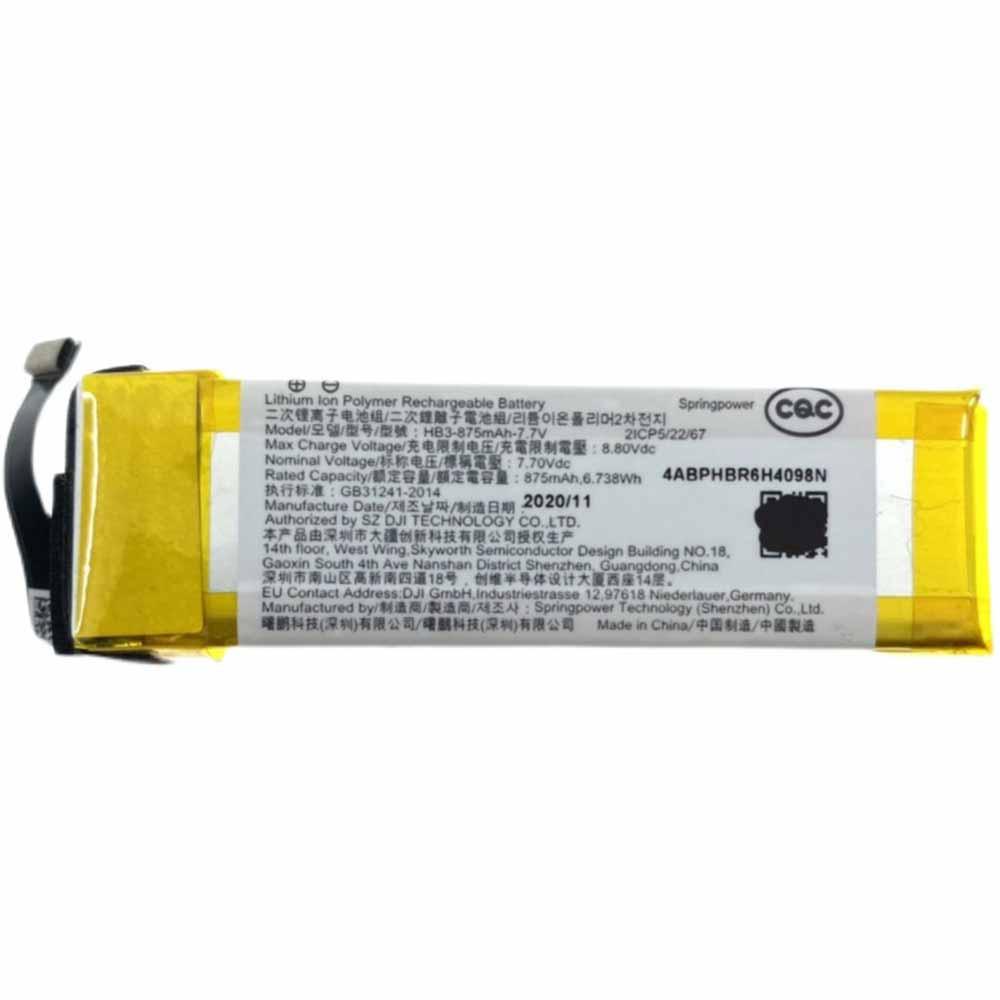 HB3 batterij