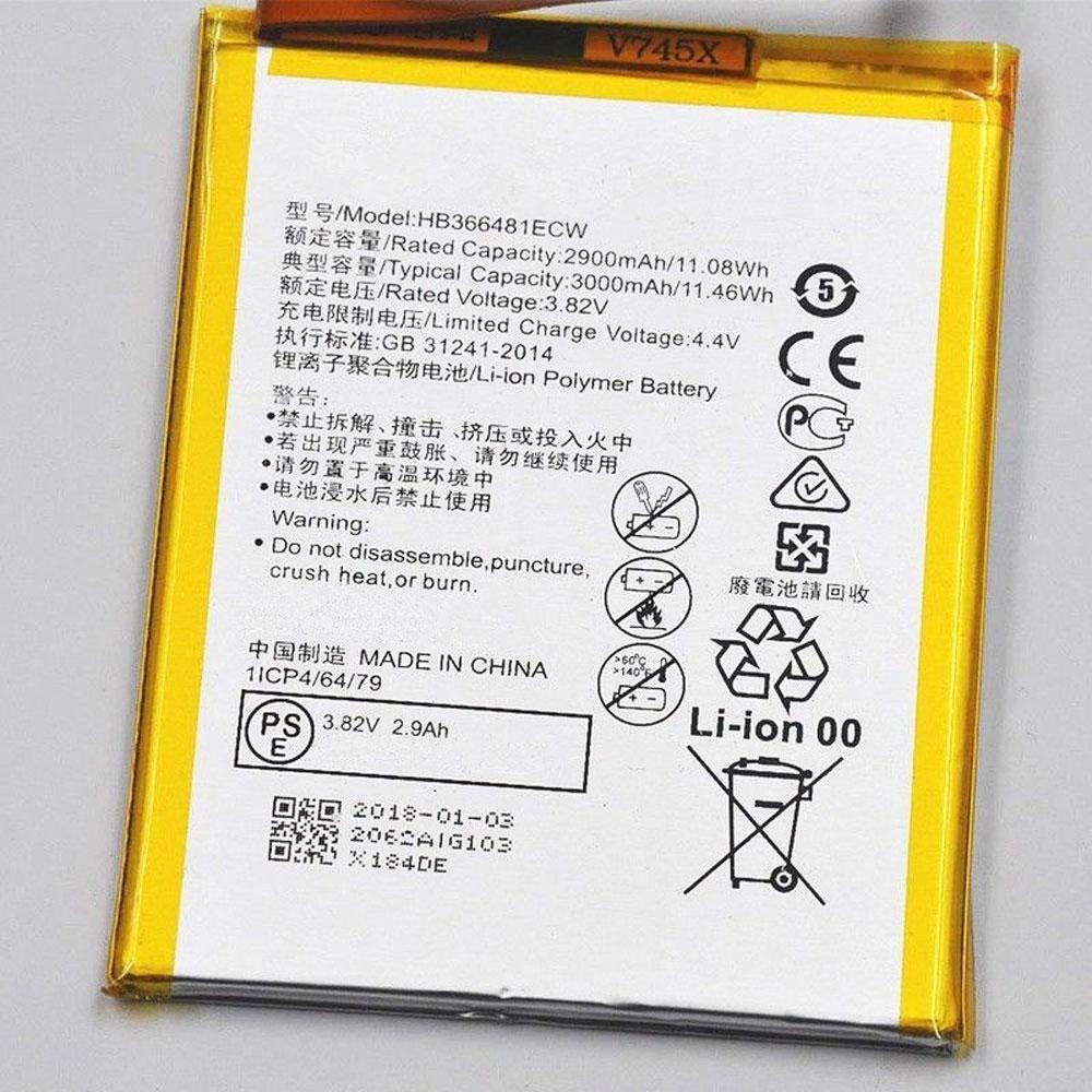 HB366481ECW Telefoon Accu's
