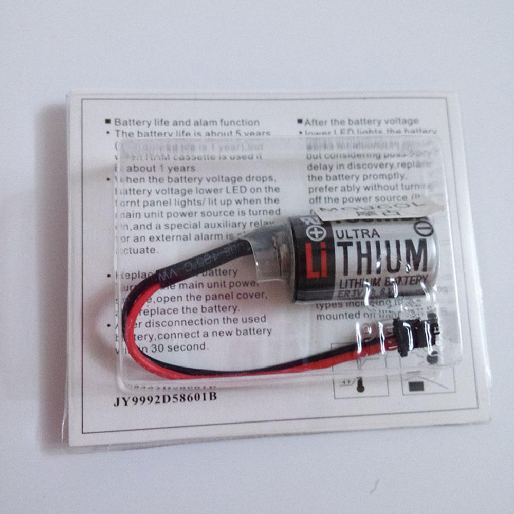Toshiba JZSP BA01 YASKAWA PLC with ER3V/3.6V black plug 10pcs  accu