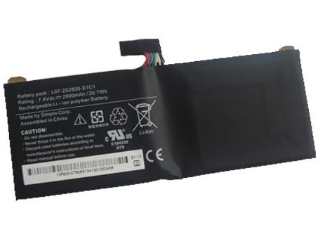 UNIWILL L07 2S2800 L1L7 Serie laptop accu