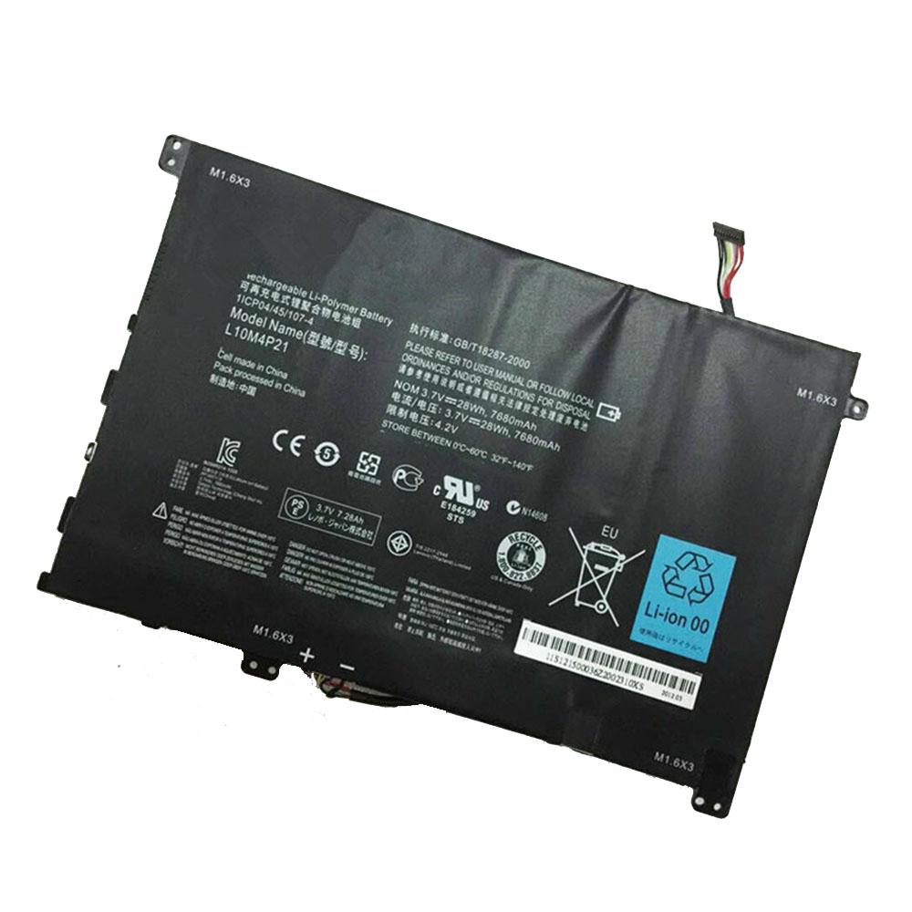 L10M4P21 laptop accu's
