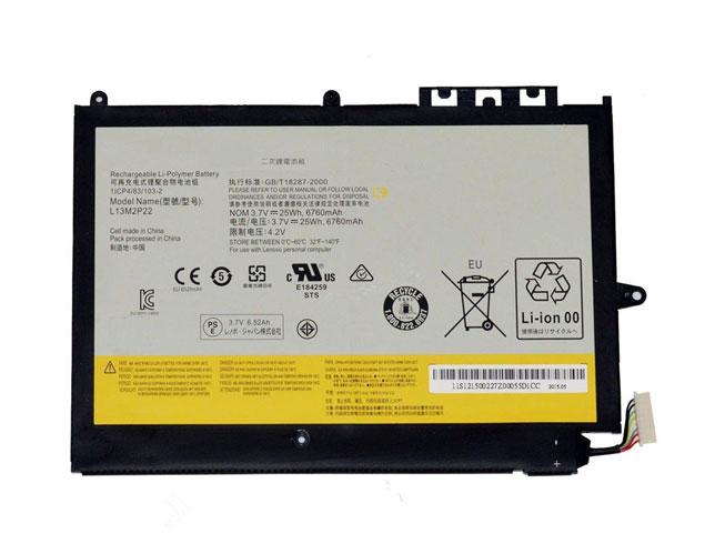 L13M2P22 25Wh/6760mAh 3.7V laptop accu