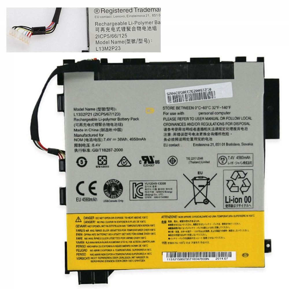 L13S2P21 4950mAh/36WH 7.4V/8.4V laptop accu