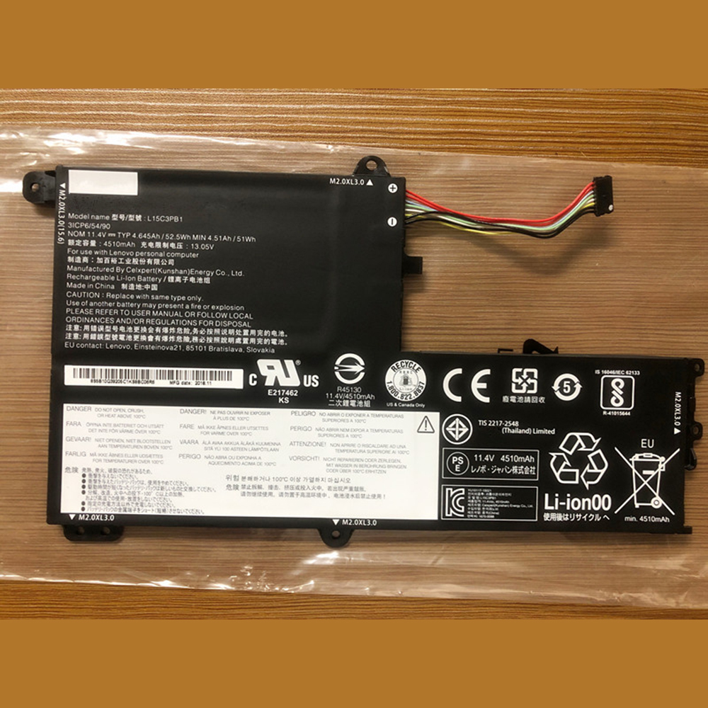 L15C3PB1 laptop accu's