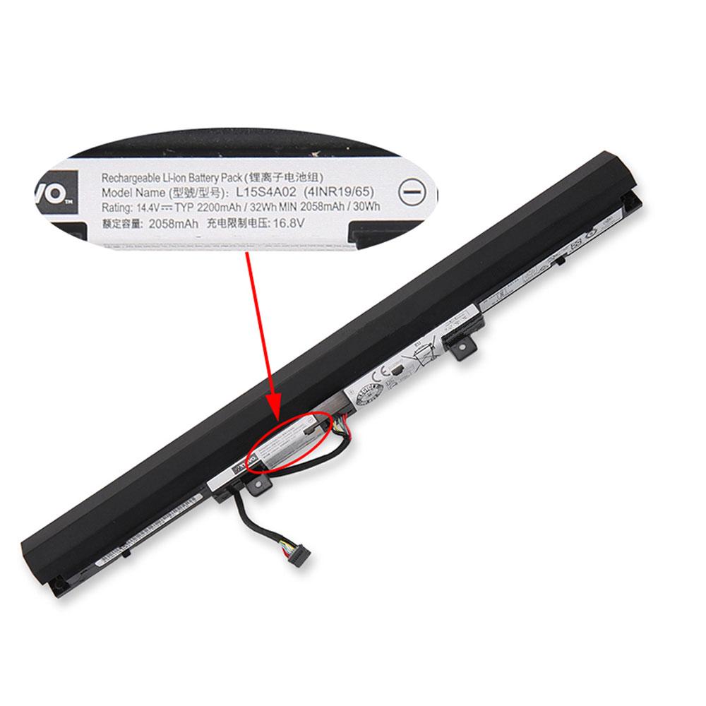 L15S4E02 laptop accu's