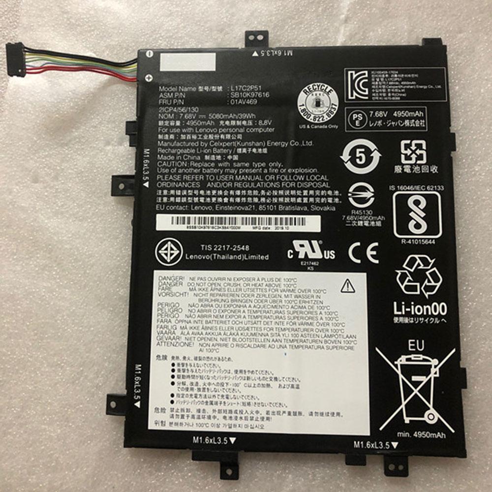 L17C2P51 Tablet accu's