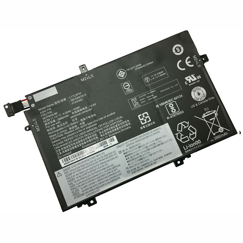 l17l3p52 laptop accu