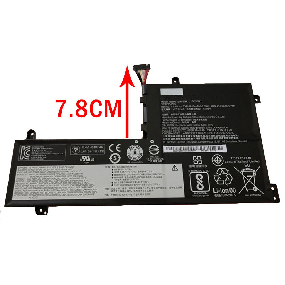L17M3PG1 laptop accu's