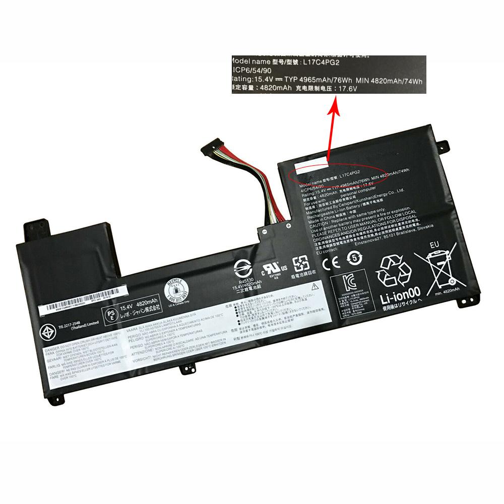 L17C4PG2 laptop accu's