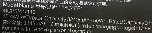 l18c4pf4 laptop accu