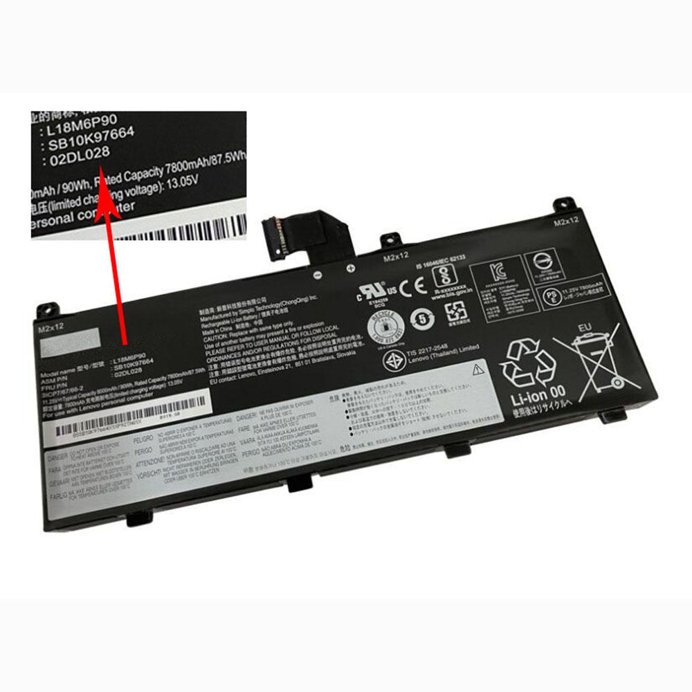 L18C6P90 laptop accu's
