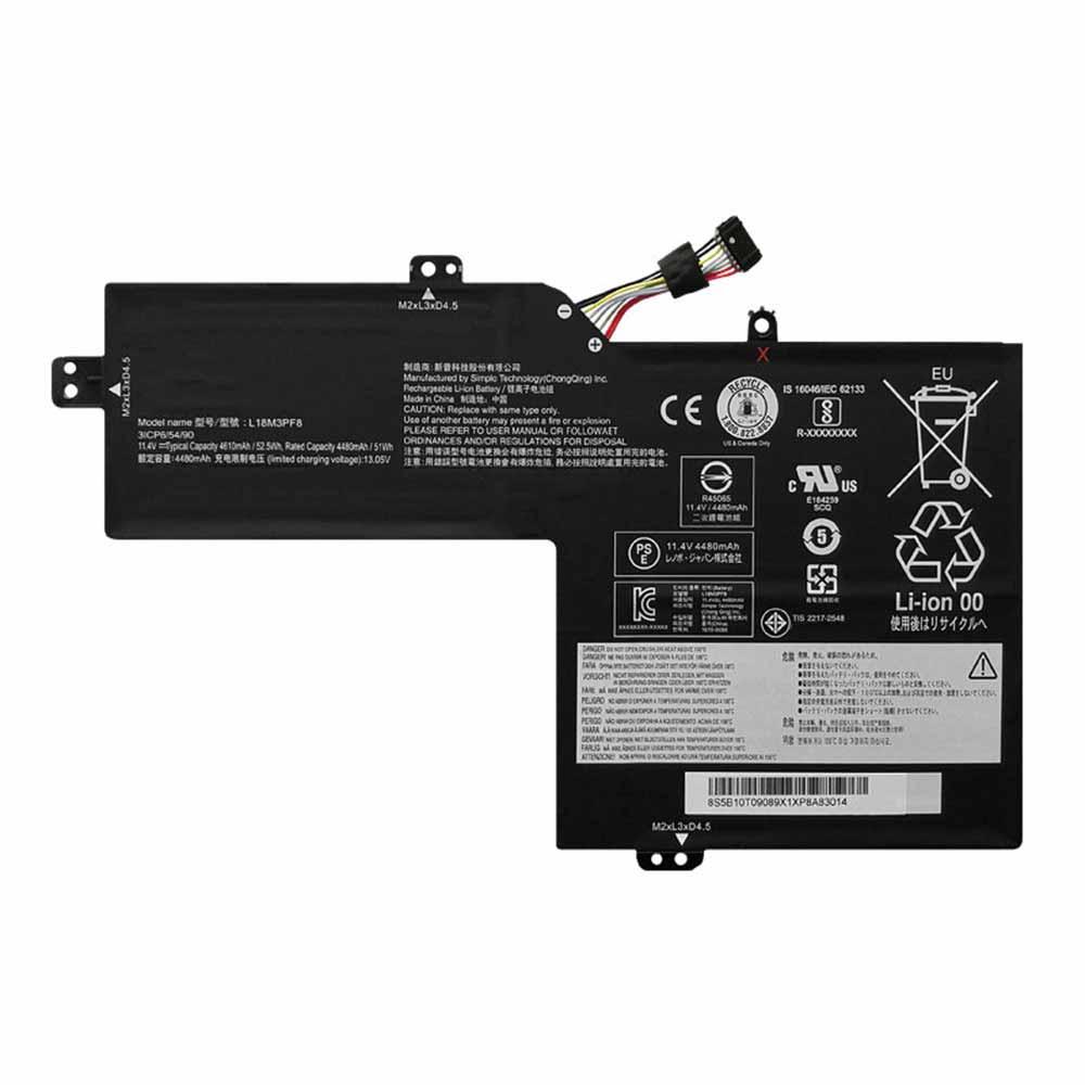 L18M3PF8 laptop accu's