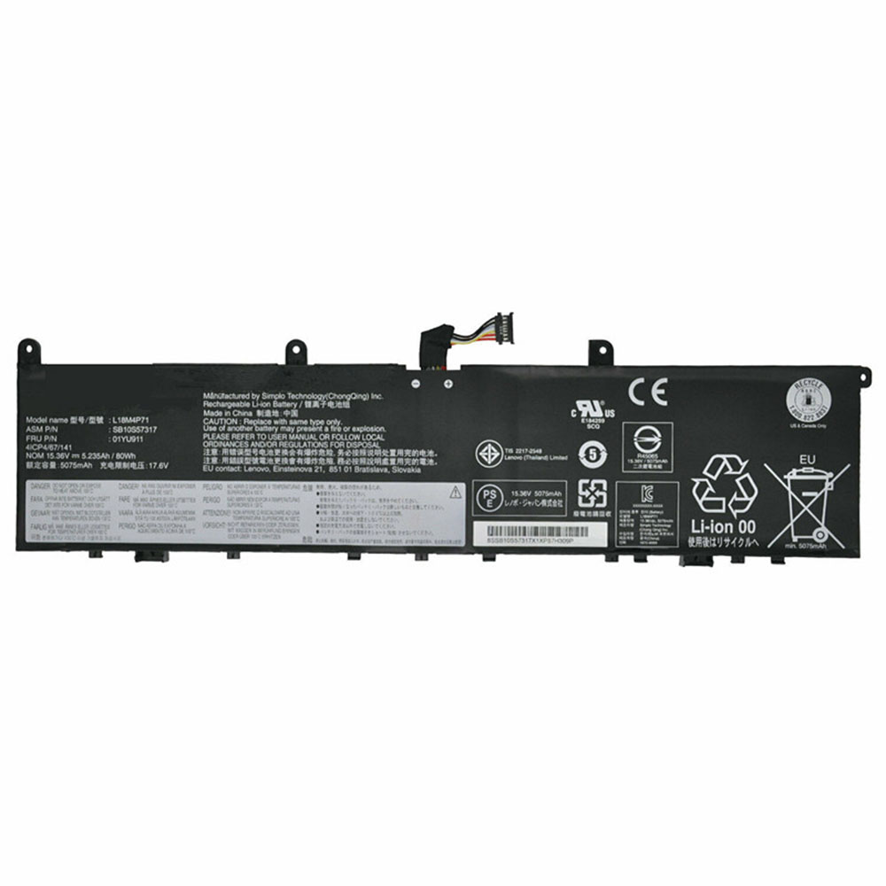 L18M4P71 laptop accu's