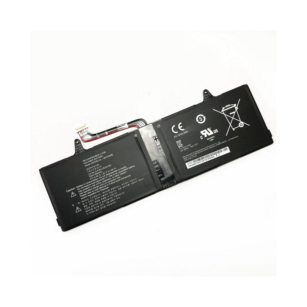 LBJ722WE 3400mAh/25.84WH 7.6V laptop accu