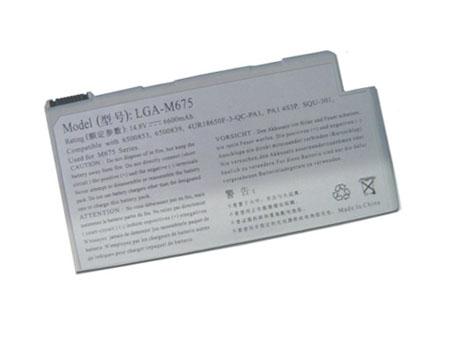 Gateway M675 M675CS M675X M675XL LGA M675 laptop accu