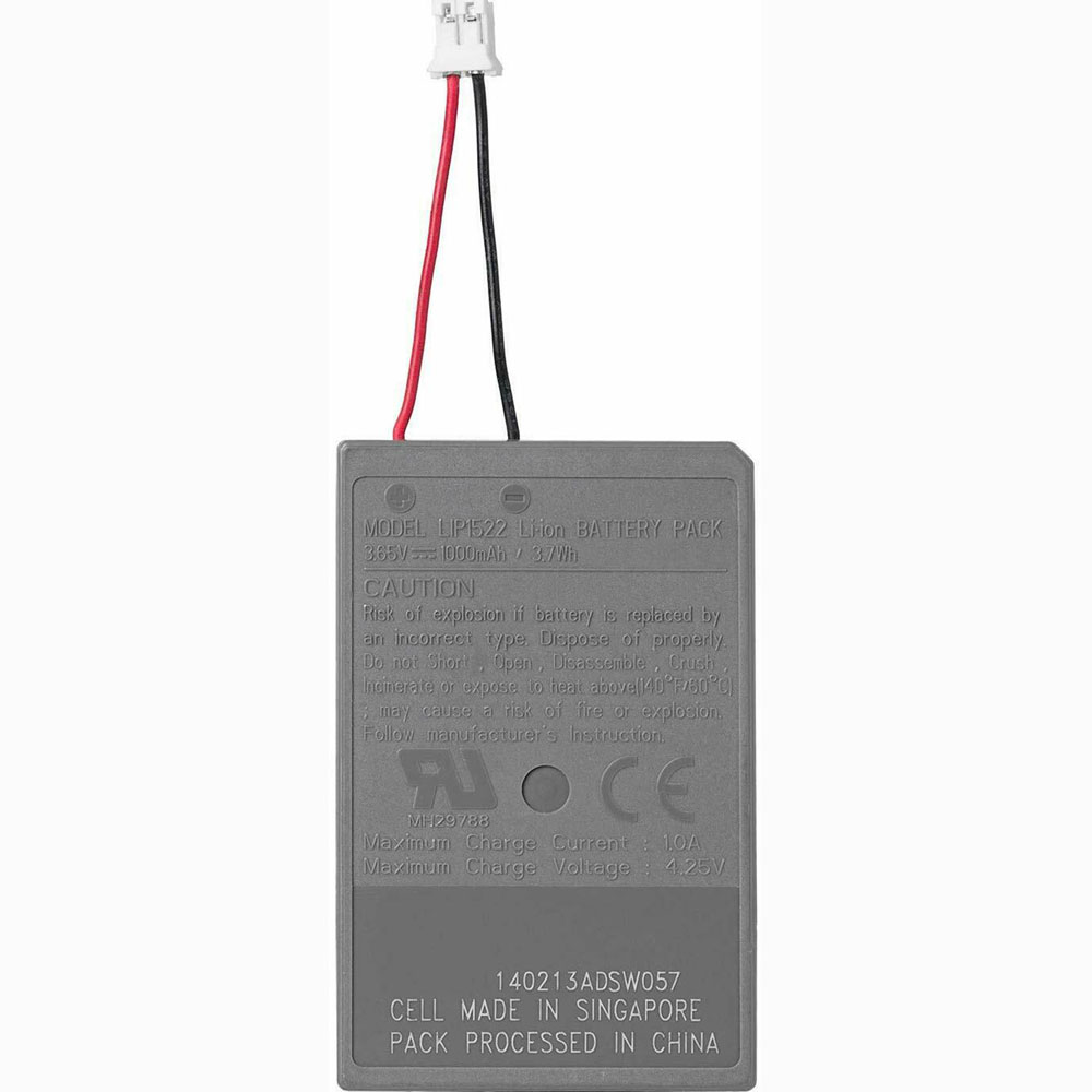 LIP1522 1000mAh/3.7WH 3.65V/4.2V laptop accu