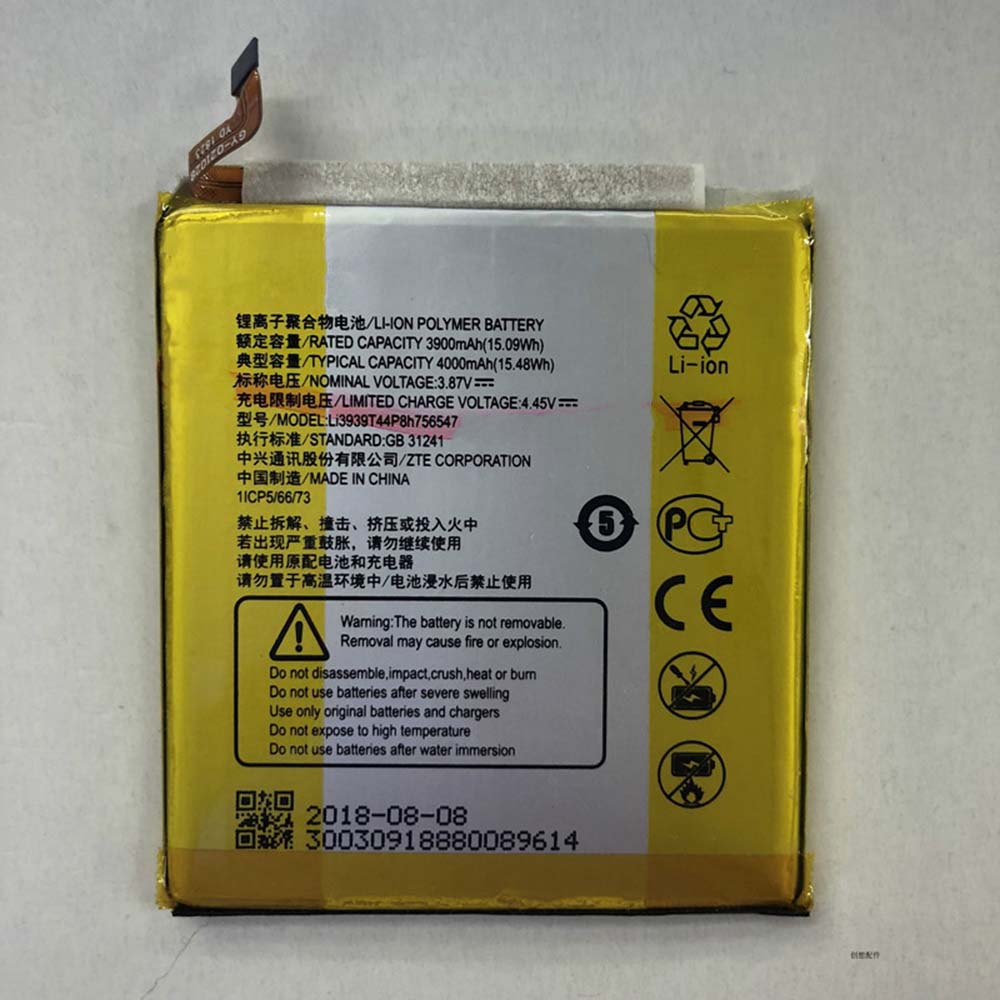 Li3939T44P8h756547 batterij