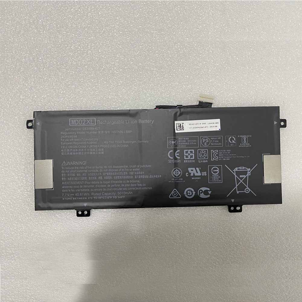MD02XL laptop accu's