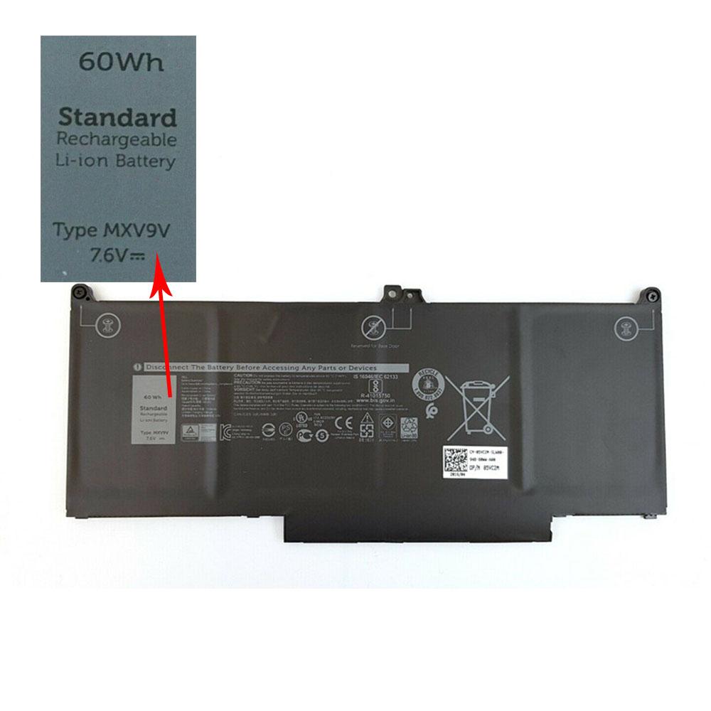 MXV9V laptop accu's