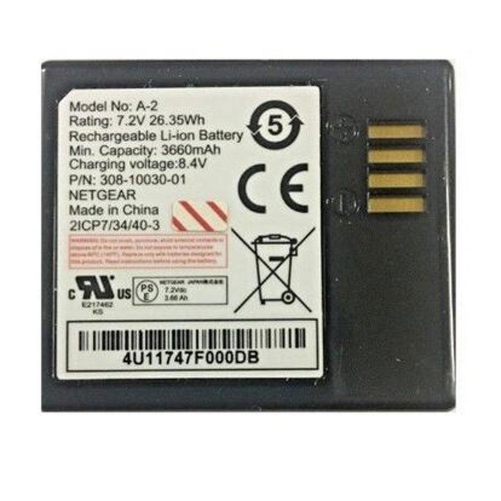A-2 3660mAh/26.35WH 7.2V/8.4V laptop accu