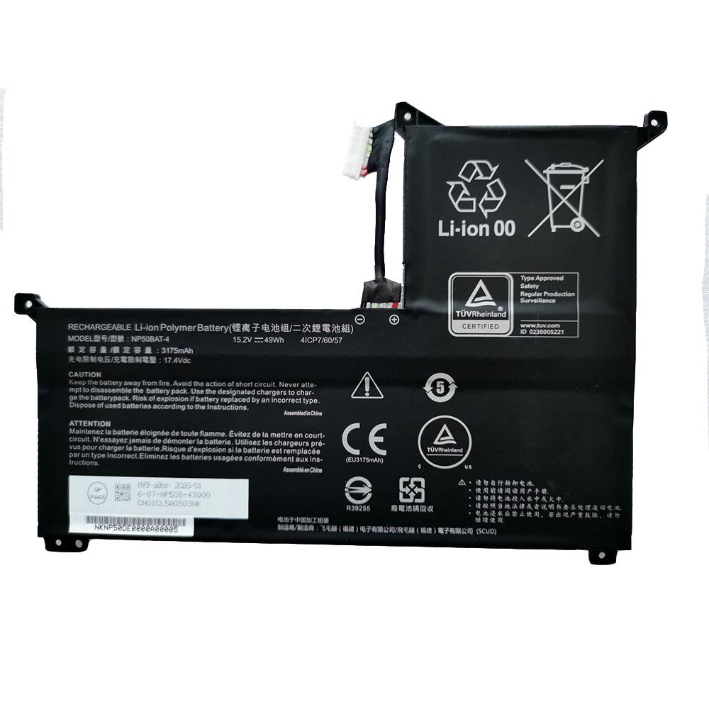 NP50BAT-4 laptop accu's