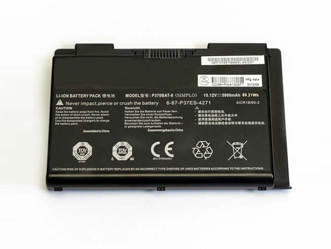 P370BAT-8 89.21wh/5900mAh 15.12V  laptop accu