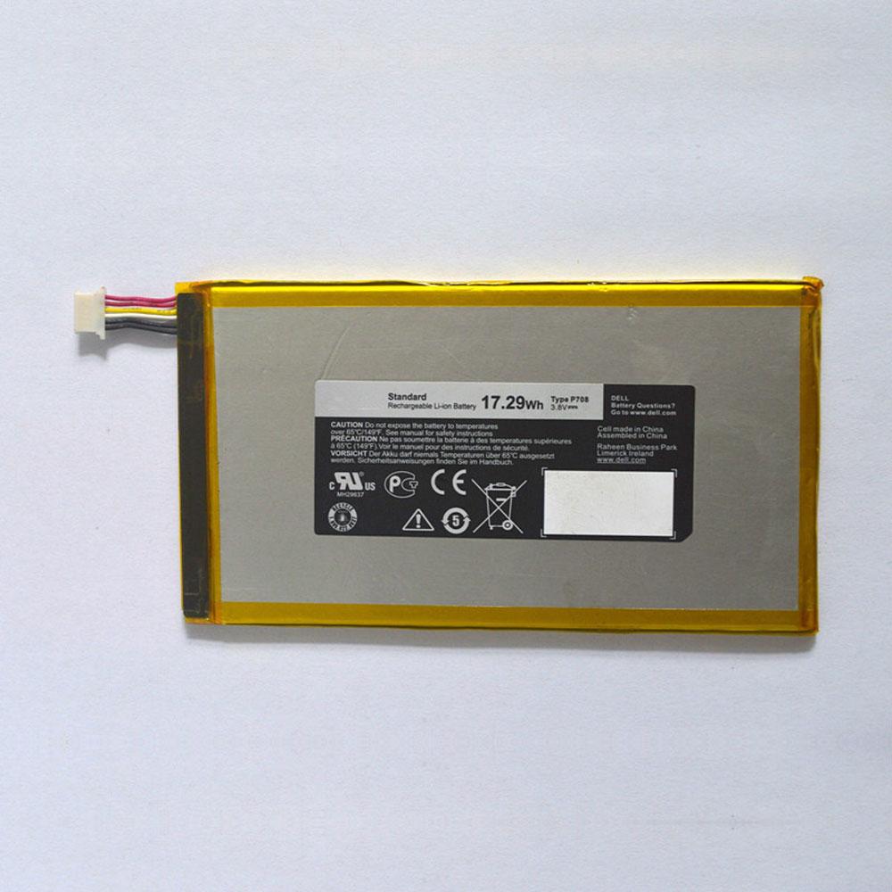 P708 Tablet accu's