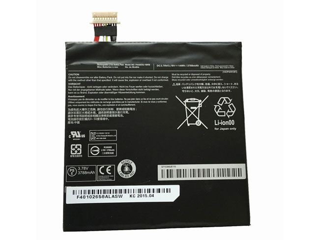 PA5203U-1BRS Tablet accu's