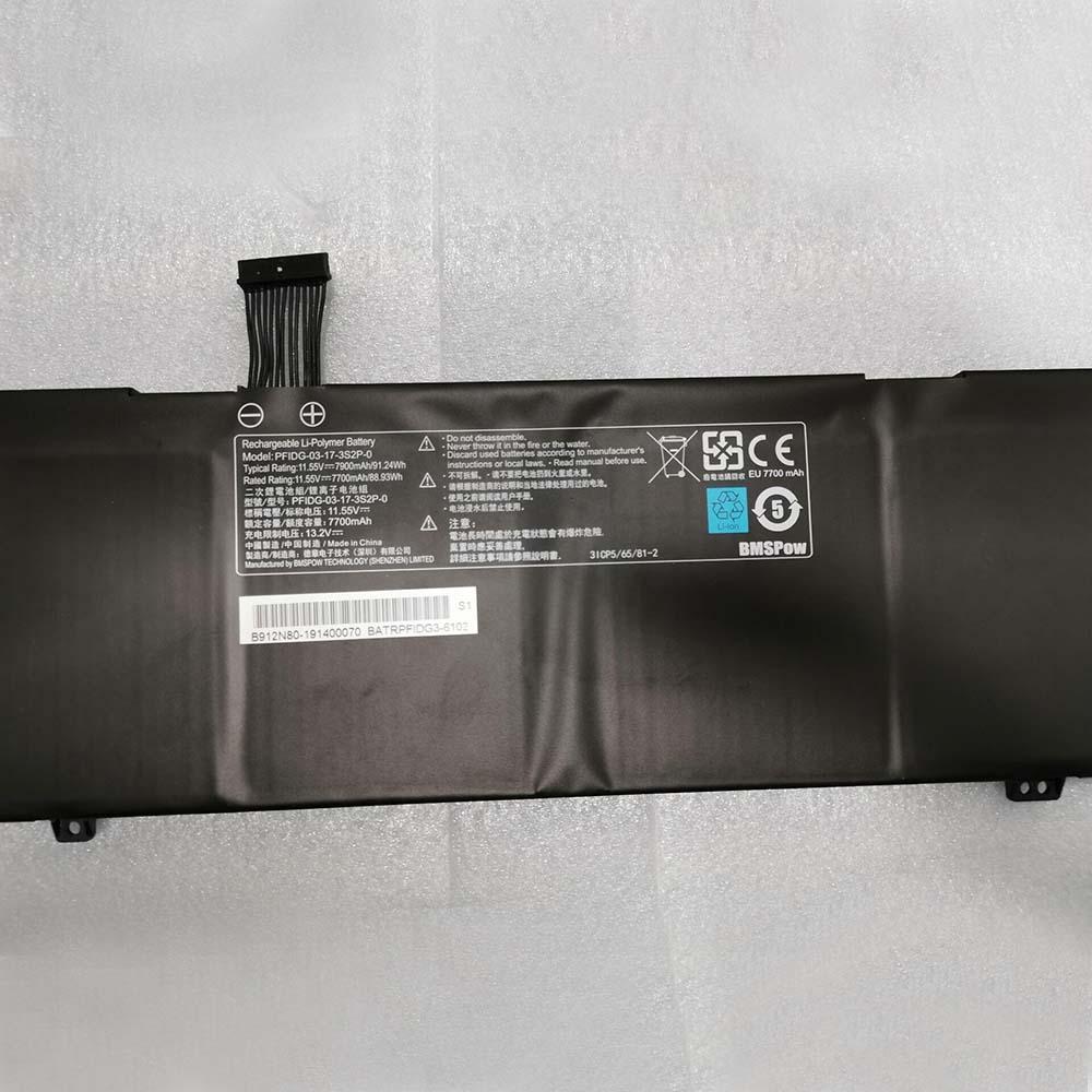 PFIDG-03-17-3S2P-0 laptop accu's