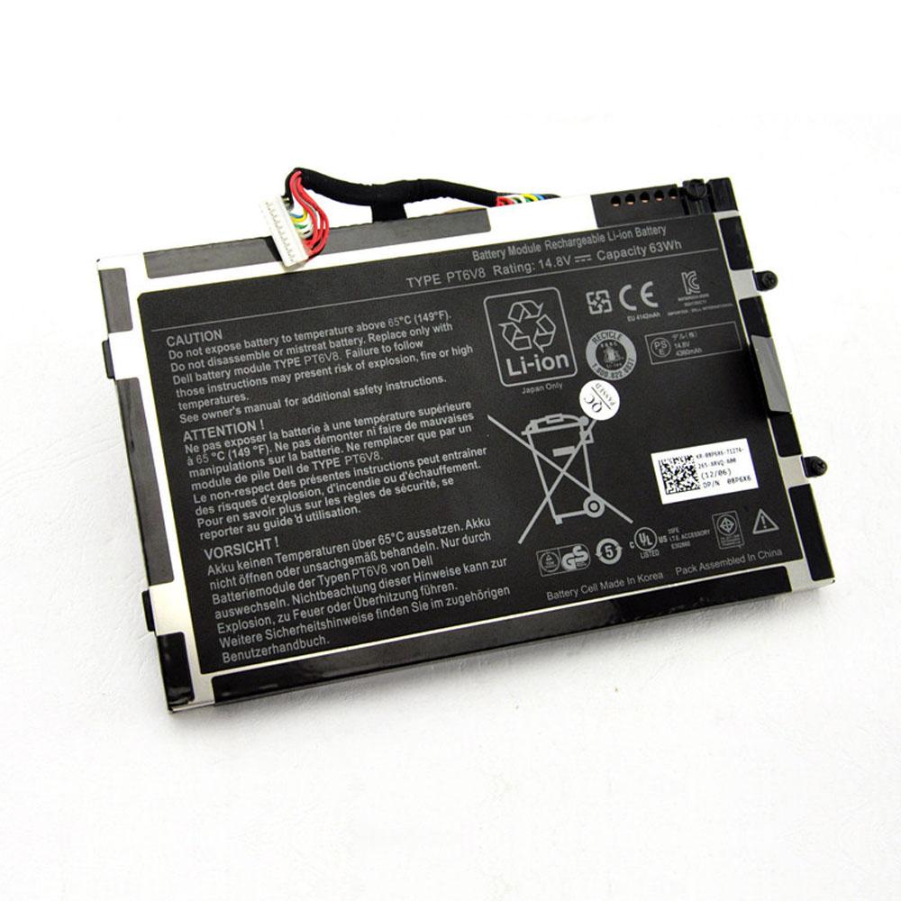 PT6V8 laptop accu's