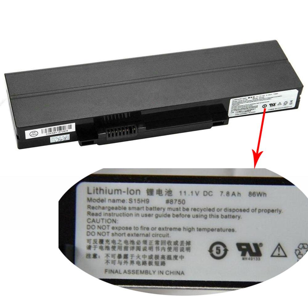 R15B 73Wh/6600mah 11.1V laptop accu