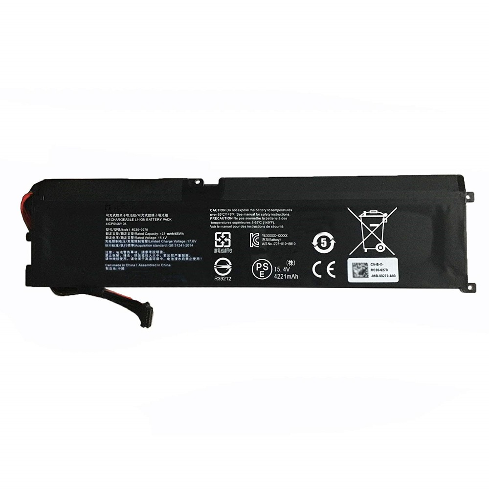 RC30-0270 laptop accu's