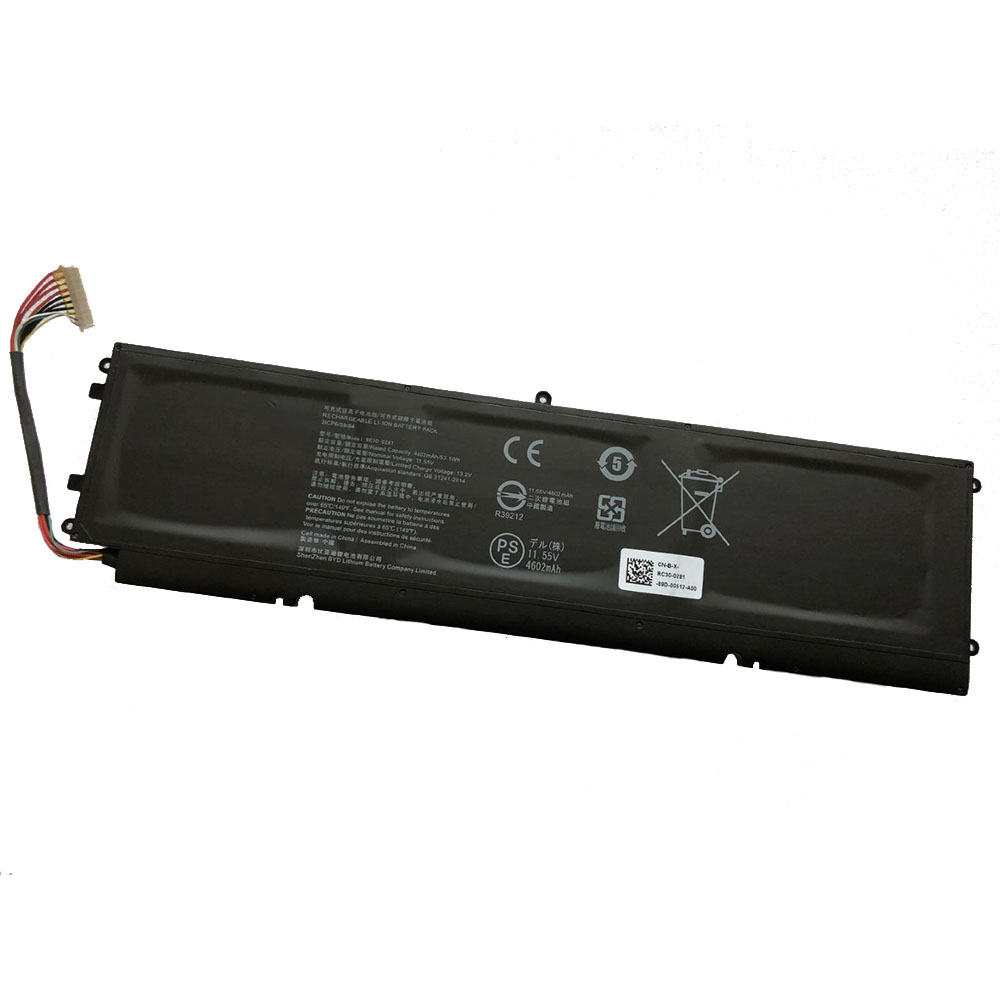 RC30-0281 laptop accu's