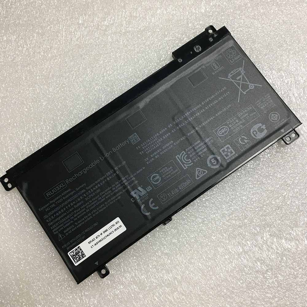 RU03XL laptop accu's