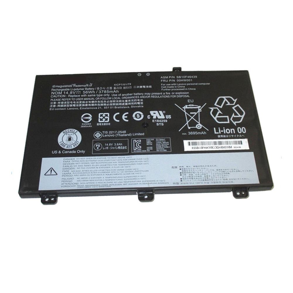 SB10F46439 laptop accu's