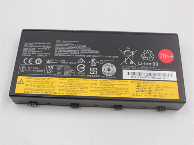 Lenovo ThinkPad P70 Series laptop accu