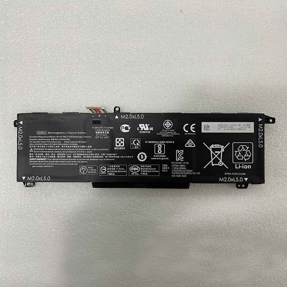 SD06XL laptop accu's