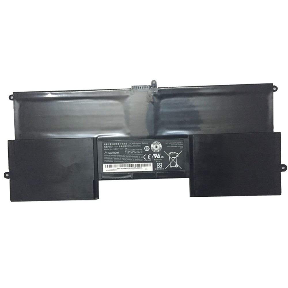 SQU-1107 laptop accu's