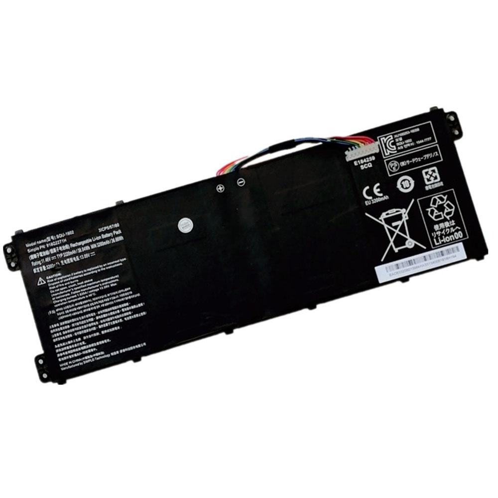 SQU-1602 laptop accu's