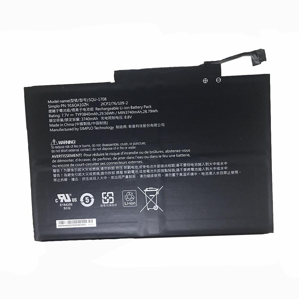 squ-1708 laptop accu