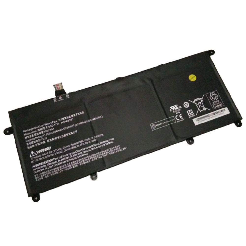 SQU-1721 laptop accu's