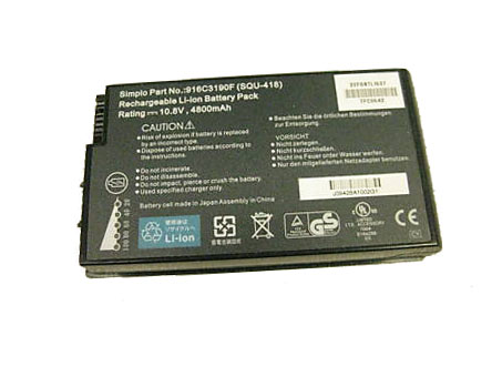 SQU-418 laptop accu's
