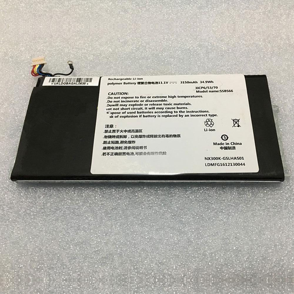 SSBS66 laptop accu's