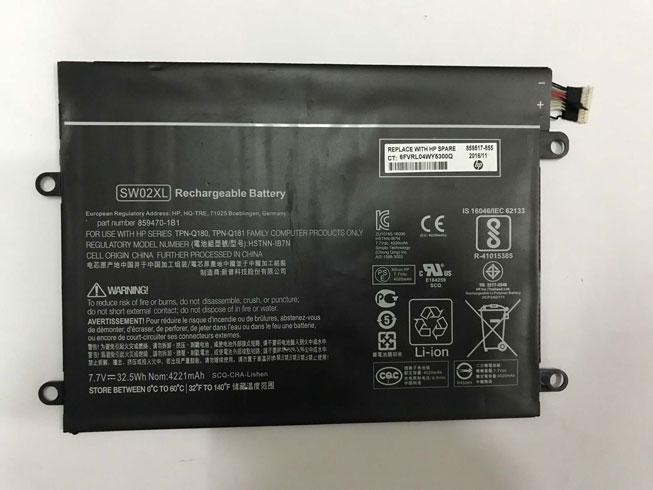 HSTNN-IB7N laptop accu's