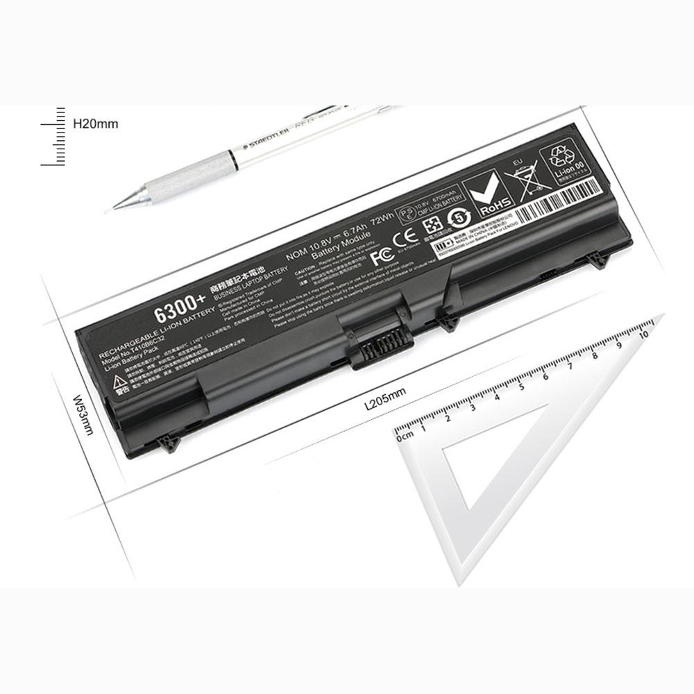 42T4235 6700mAh/72WH 10.8V laptop accu