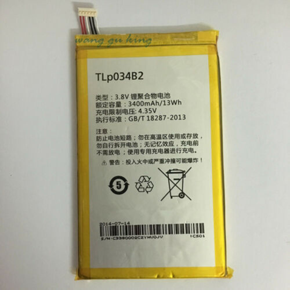 TLP034B2 Telefoon Accu's