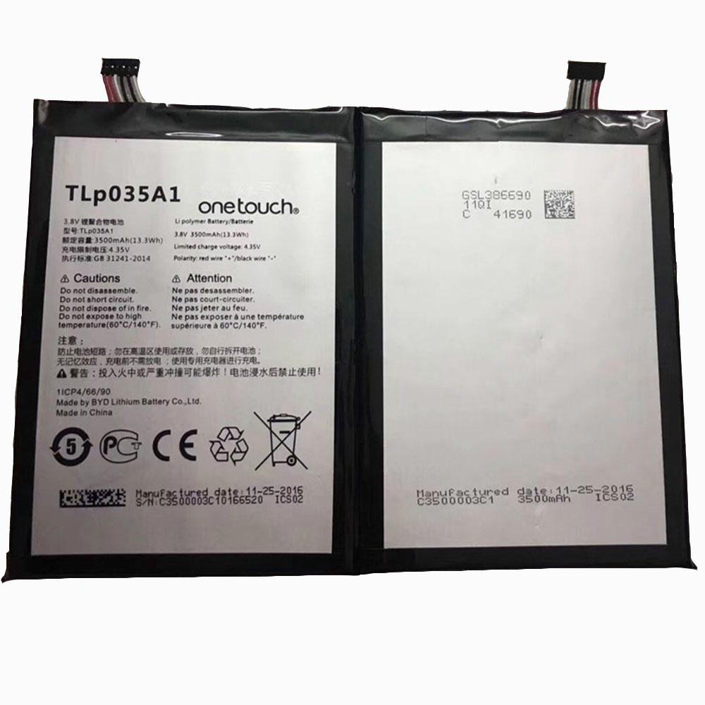 TLP035A1 Telefoon Accu's