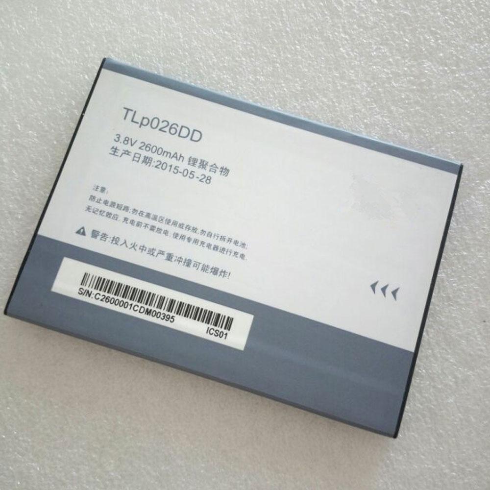 TLp026DD Telefoon Accu's