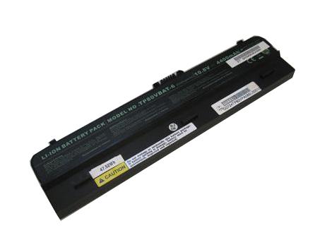 Clevo 6 67 T80VS 454 laptop accu
