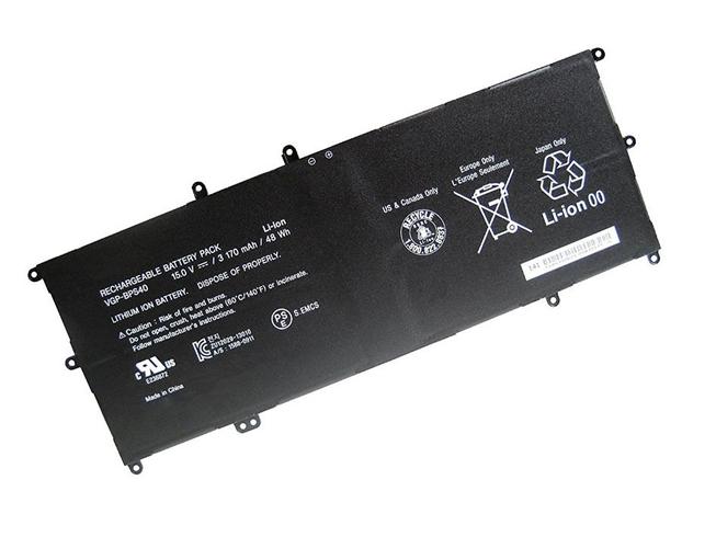 VGP-BPS40 48Wh/3170mAh 15.0V laptop accu
